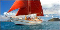 3 days 2 nights sailing on a tall ship around the Whitsundays